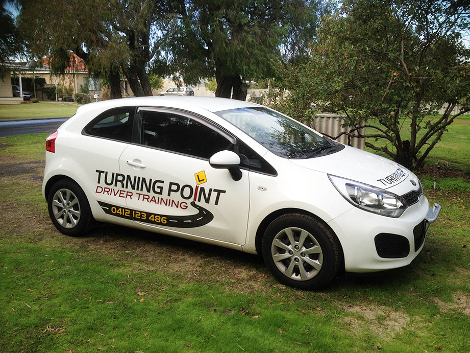 Turning Point Driver Training's car